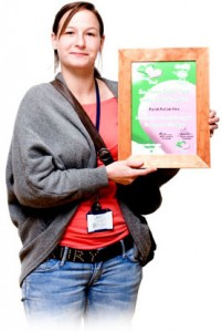 Picture of Rachel Rutherford, one of our Charity Heroes