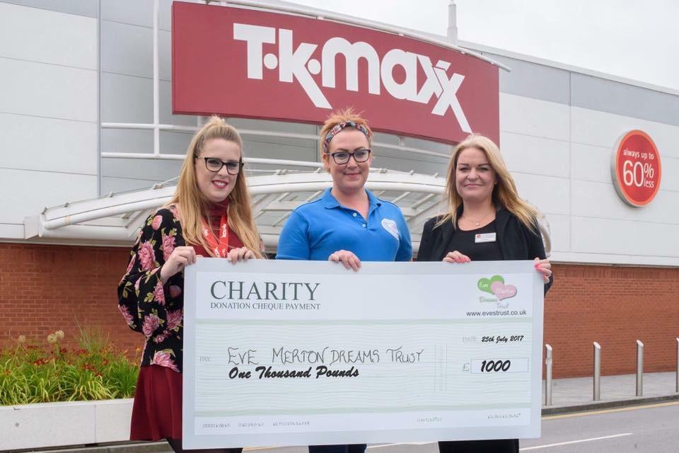 TK Maxx Help Provide Dreams
